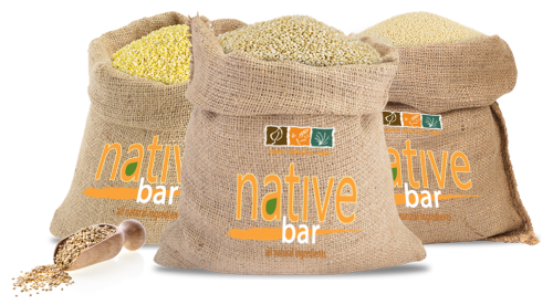 Native Bars are always made with organic quinoa