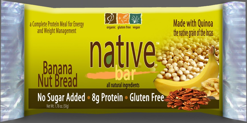 Native Bar | Banana Nut Bread