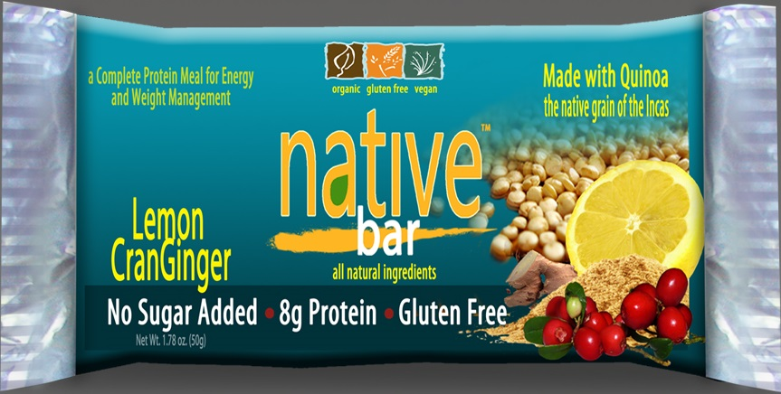 Native Bar | Lemon CranGinger